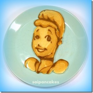 Disney princess pancakes